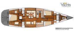 Bordeaux60 layout 3 ©CNB Yacht Builders