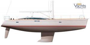 Bordeaux60 profile ©CNB Yacht Builders