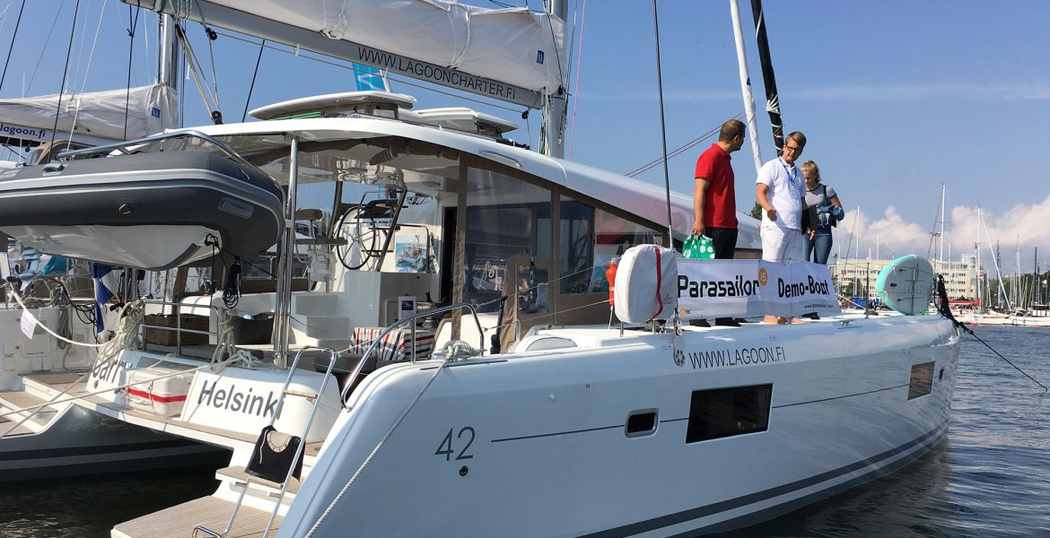 YachtsAgent brings the Lagoon 42 to Uiva 2017