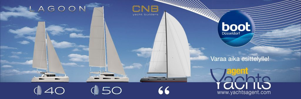 YachtsAgent presents at Boot 2018:    CNB, Lagoon and Parasailor