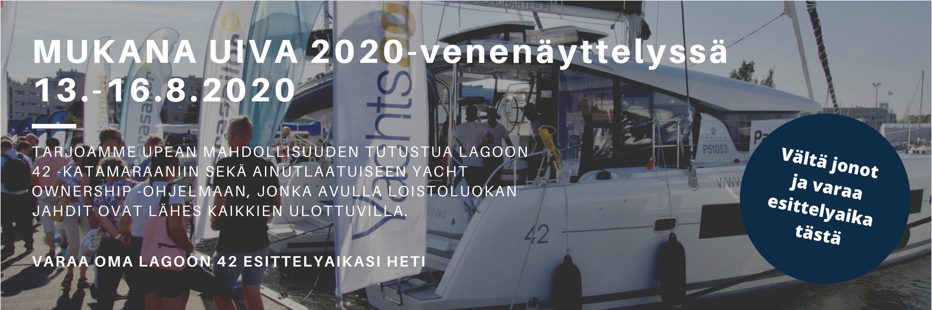 Mukana Uiva 2020 -venenäyttelyssä