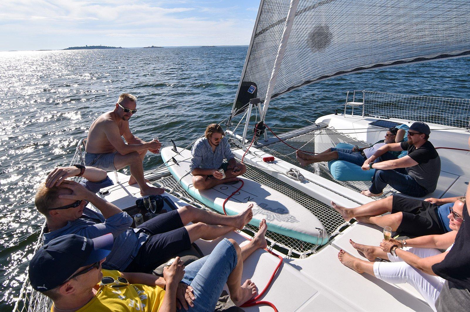 Sailing Camp Purjehdus